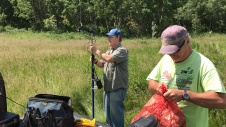 research spectrometer grass grassland pasture ranching science Wainwright Edgerton Alberta